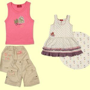 NWT French Designer Chipie Girl 3pc lot size 12